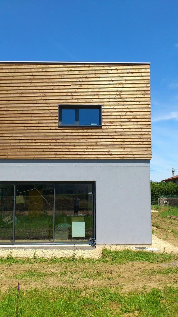 Maison BBC à ossature bois