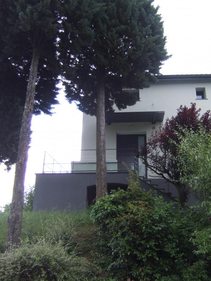 Réhabilitation maison à Saint Romain au Mont d'Or : Détail entrée