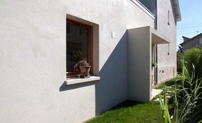 rénovation extension d'une maison ouvrière : l'extenion en continuité de l'existant