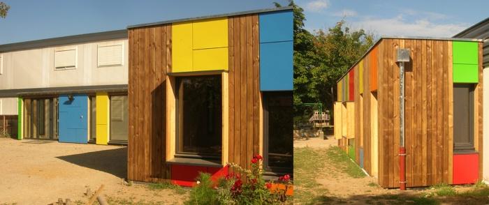 Ecole nouvelle du chapoly tassin la demi lune 69 for Algeco maison individuelle