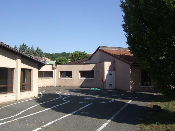 Extension école maternelle à Béligneux : avant travaux