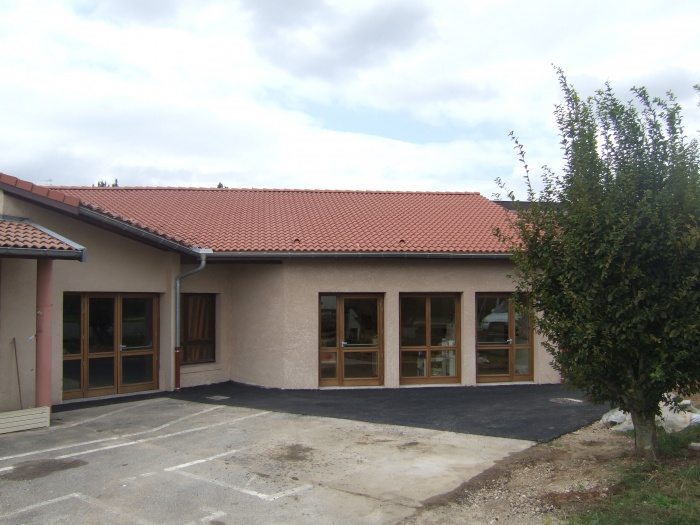 Extension école maternelle à Béligneux