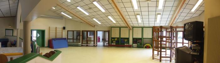Extension école maternelle à Béligneux : Salle de motricité