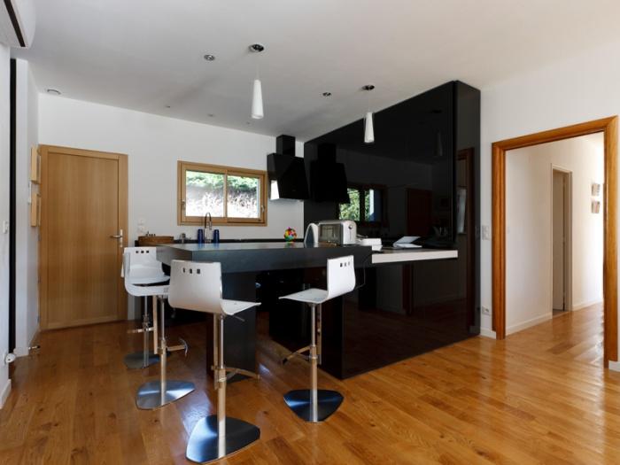 Interieur Maison Bois Contemporaine : Maison BBC ossature bois ? Lyon ? Rillieux-la-Pape