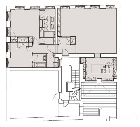 Réunification de deux appartements à la Croix-Rousse : 02_Réunification Appartements Croix-Rouse