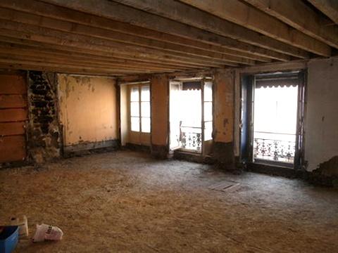 Réunification de deux appartements à la Croix-Rousse : 04_Réunification Appartements Croix-Rouse