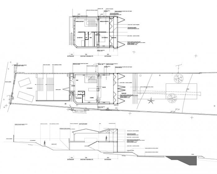 moucharabieh : le dessin du projet