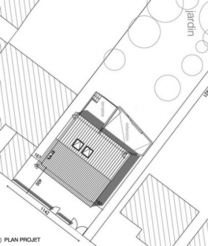 Extension et rénovation d'une maison à Lyon : 02_Extension et Rénovation d'une maison rue combes