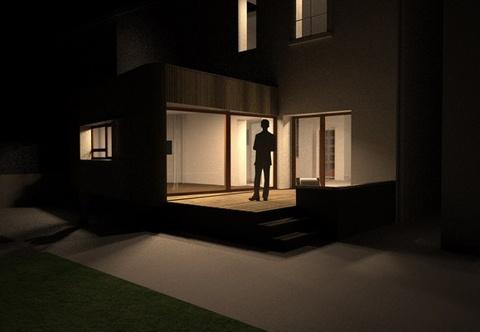Extension et rénovation d'une maison à Lyon : 04_Extension et Rénovation d'une maison rue combes