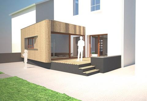 Extension et rénovation d'une maison à Lyon : 05_Extension et Rénovation d'une maison rue combes