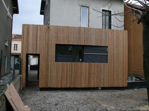 Extension et rénovation d'une maison à Lyon