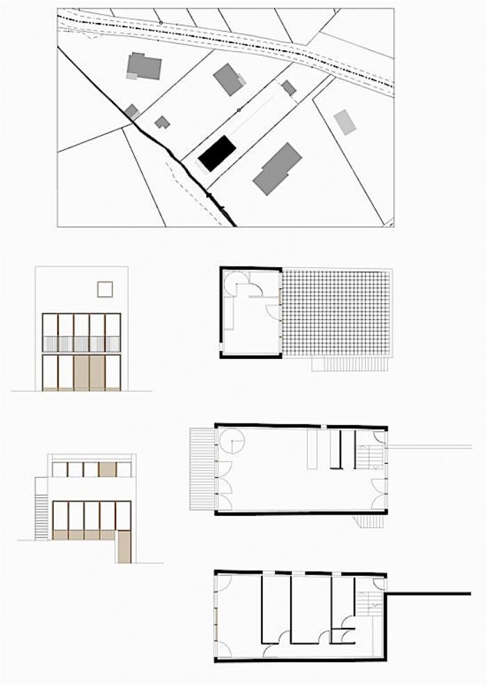 Maison avec toit jardin : sg3