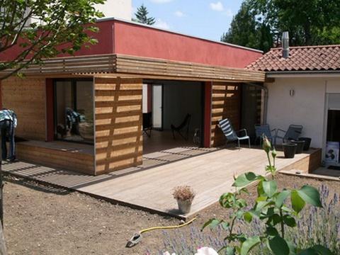 Extension et rénovation d'une maison à Caluire : 06_Extension et Rénovation Maison Caluire