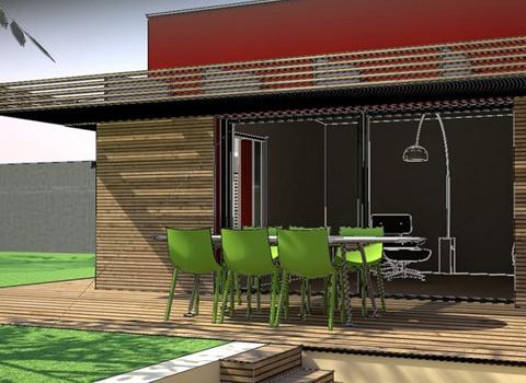 Extension et rénovation d'une maison à Caluire : 07_Extension et Rénovation Maison Caluire
