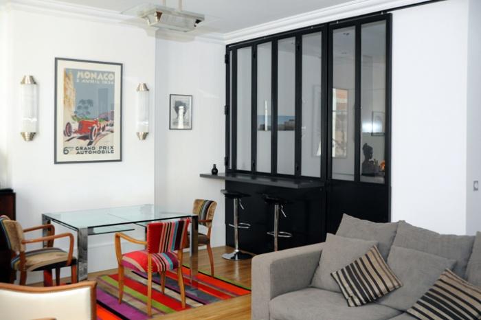 art d co lyon une r alisation de sylvain perillat architecte. Black Bedroom Furniture Sets. Home Design Ideas
