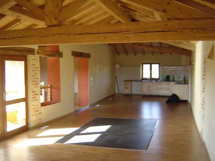 Projet de r novation d 39 une grange condeissiat - Rehabilitation d une grange en habitation ...