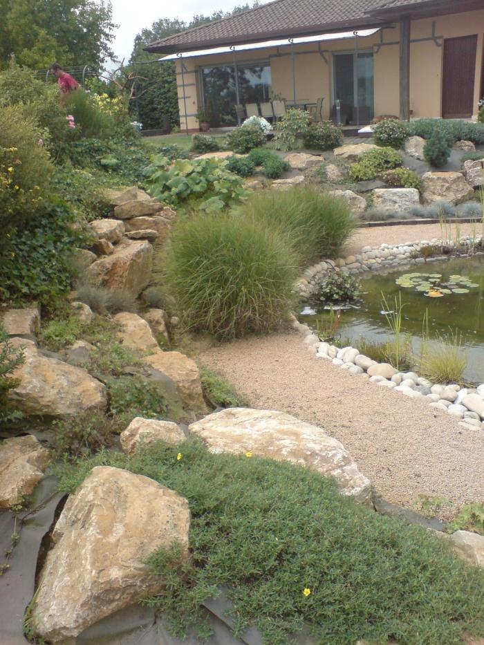 Création d'un jardin