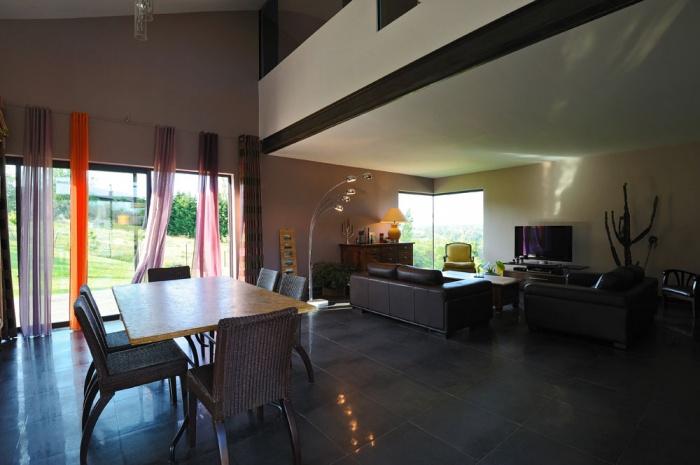 Maison contemporaine bois & béton : 07_VANE