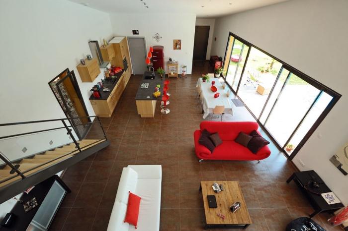 Maison contemporaine bois & ouate de cellulose / Basse énergie : 15_PARA
