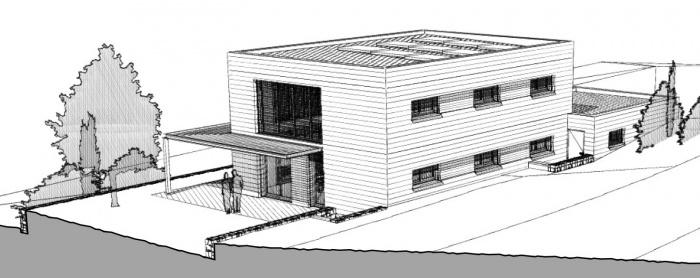 CONSTRUCTION D'UNE MAISON INDIVIDUELLE OSSATURE BOIS : 12A_ESQUISSE_E1-2