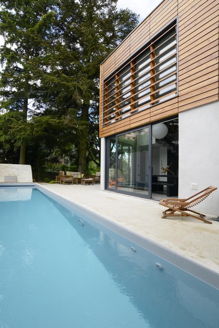 maison contemporaine Lyon 5ème :