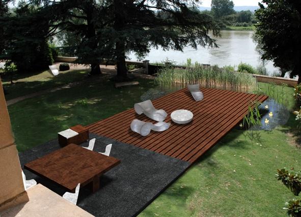 Villa à Beauregard - projet realisé avec agence B. Aulagne, agence RBBA