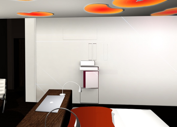 Villa à Beauregard - projet realisé avec agence B. Aulagne, agence RBBA : villa - chambre