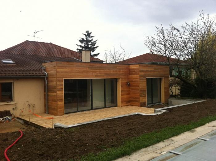 Extension Ossature bois : extension1