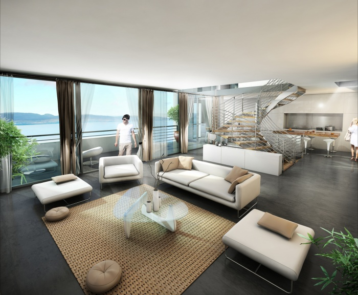 3 Villas Contemporaines au bord du Lac Leman