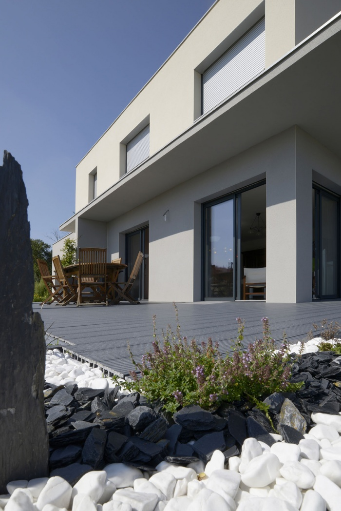 Maison contemporaine à Genas