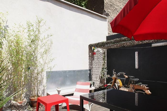 Le garage villeurbanne une r alisation de space maker for Garage rue des bienvenus villeurbanne