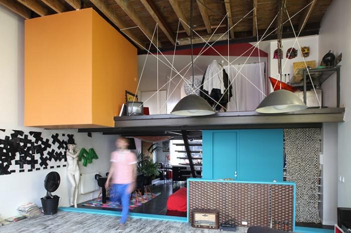 LE GARAGE : Vue intérieure