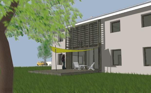 Maison individuelle bioclimatique : Projet