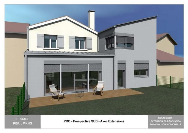 MKNG - Extension et Rénovation d'une Maison Individuelle