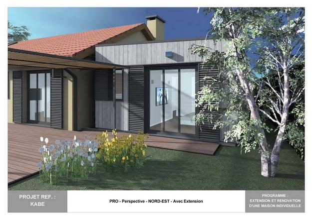 KABE - Extension et Rénovation d'une Maison Individuelle
