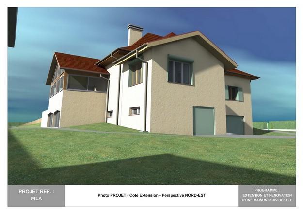 PILA - Extension et Rénovation d'une Maison Individuelle : pila_dp_rea_05
