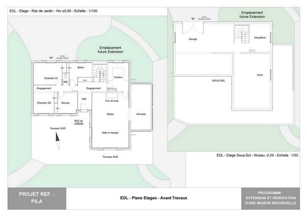 PILA - Extension et Rénovation d'une Maison Individuelle : pila_dp_rea_11