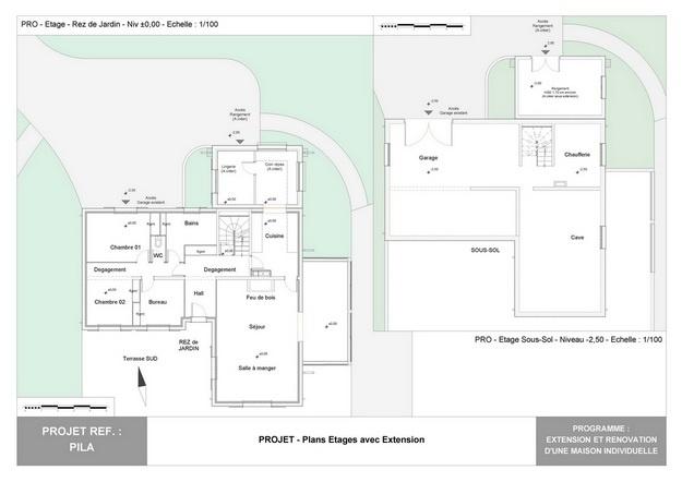 PILA - Extension et Rénovation d'une Maison Individuelle : pila_dp_rea_12