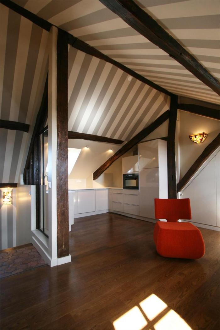 Décoration et rénovation d'un appartement à Saint Germain des Prés