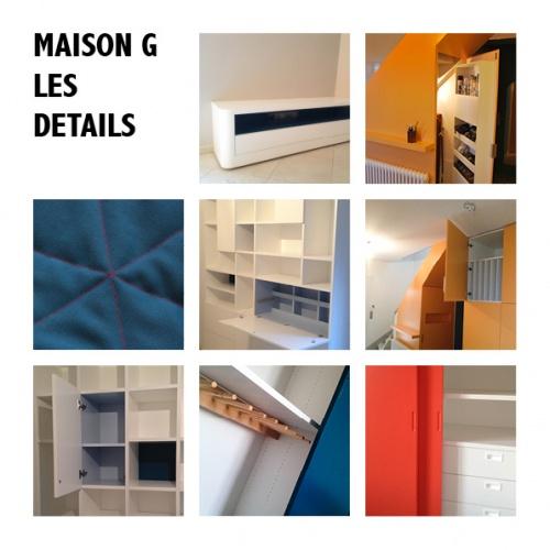 MAISON G : 5 DETAIL DUMAS ARCHITECTURES