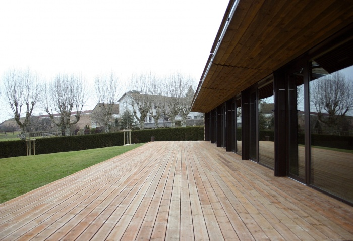 Réhabilitation/Extension de la ferme du couvent en salle de réception