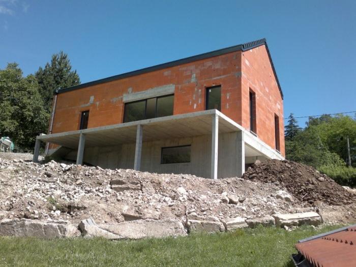 264 maisons contemporaines d 39 architectes page 3 for Architecte lyon maison individuelle