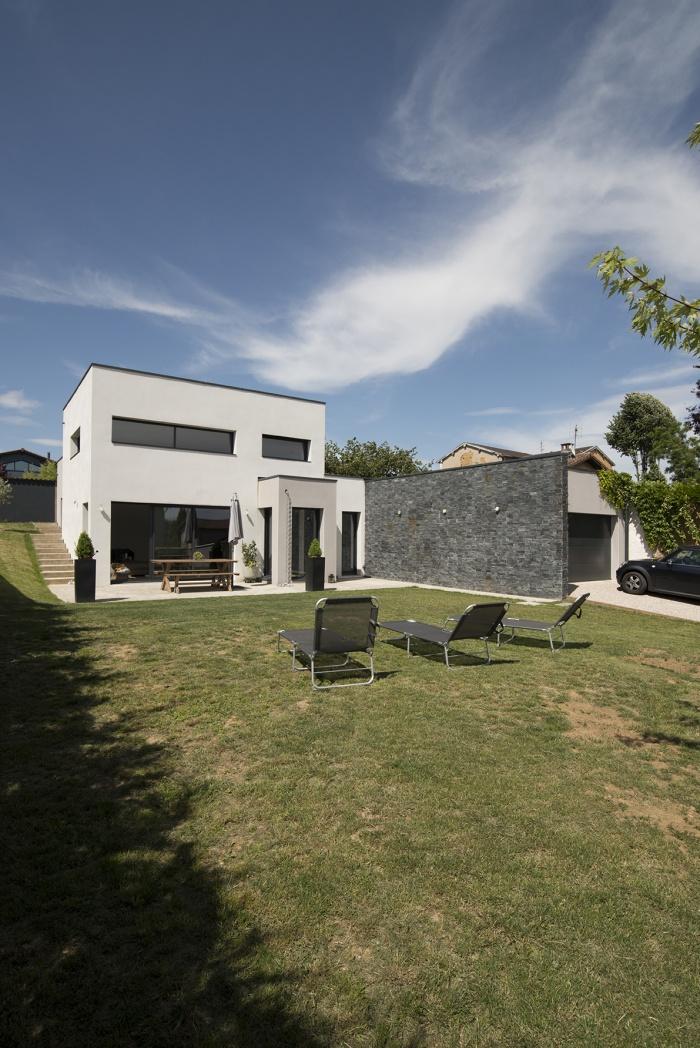 Maison contemporaine Cailloux-sur-Fontaines