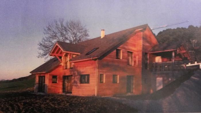 Maison individuelle à ossature bois : final