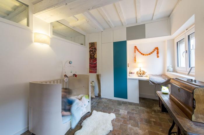 Création d'un duplex : chambre 1