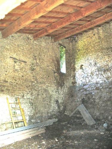 Un logement dans une ancienne grange : La grange côté intérieur