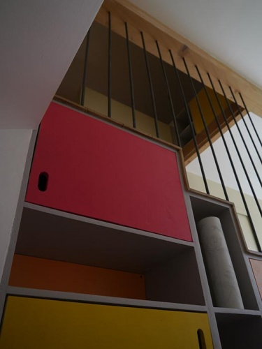 escalier double-face (Saône-et-Loire)