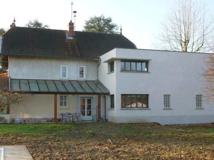 Extension d'une maison de campagne : Façade Nord