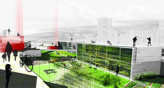 Projet urbain- habitat intergénérationnel