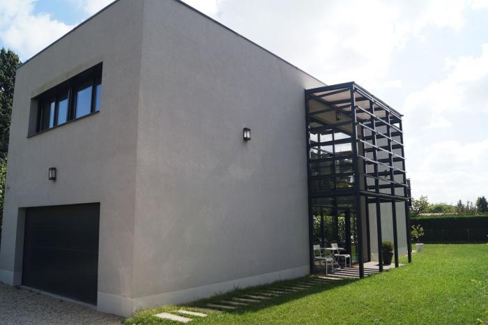 Maison Fayolle : Vue façade Ouest